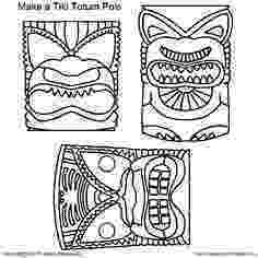 tiki masks for kids printable tiki mask template from printabletreatscom kids for tiki masks