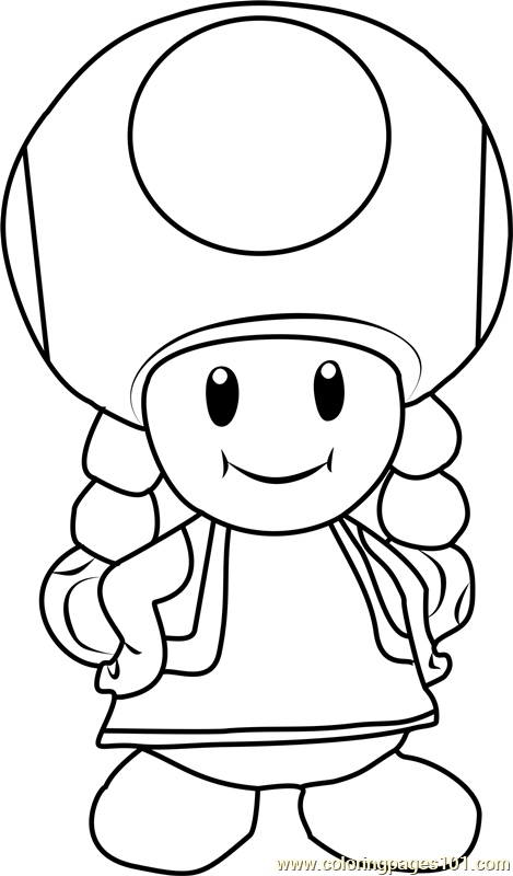 toadette coloring pages toadette coloring page free super mario coloring pages coloring toadette pages