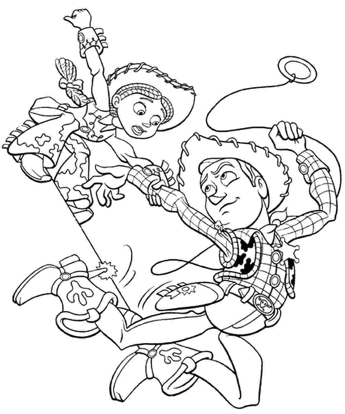 toy story 2 pictures to colour woody riding dog toy story 2 coloring page coloring 4 story toy pictures colour to 2