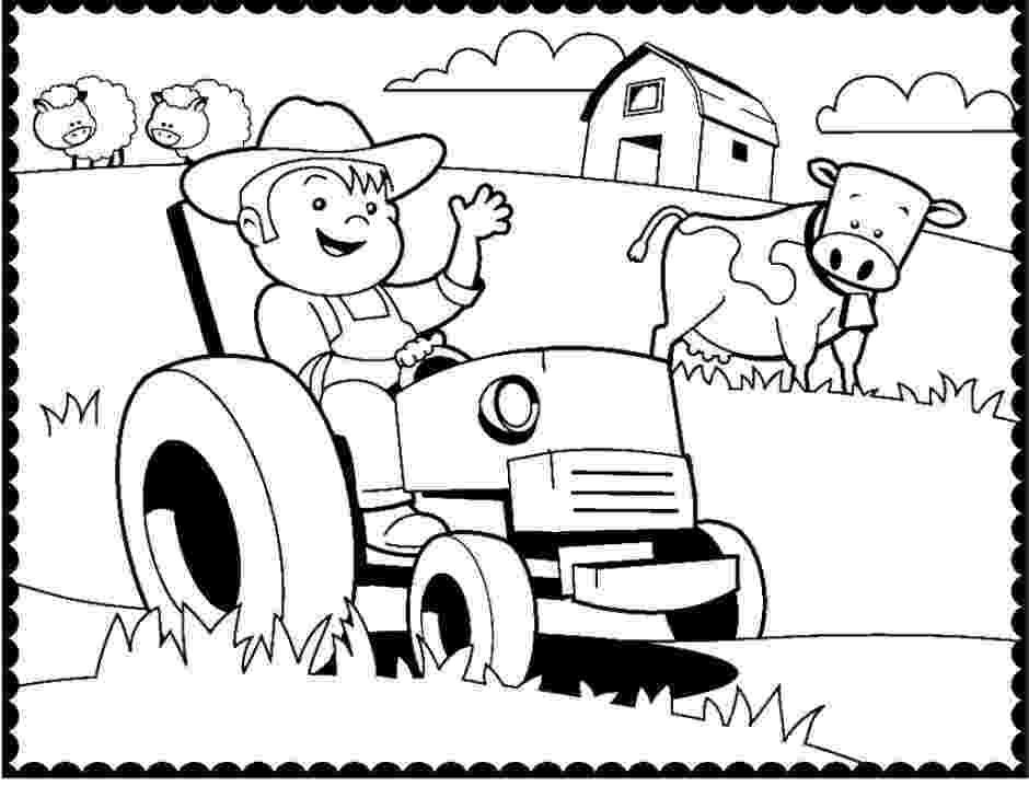 tractor coloring sheet free tractor images free download free clip art free sheet tractor coloring