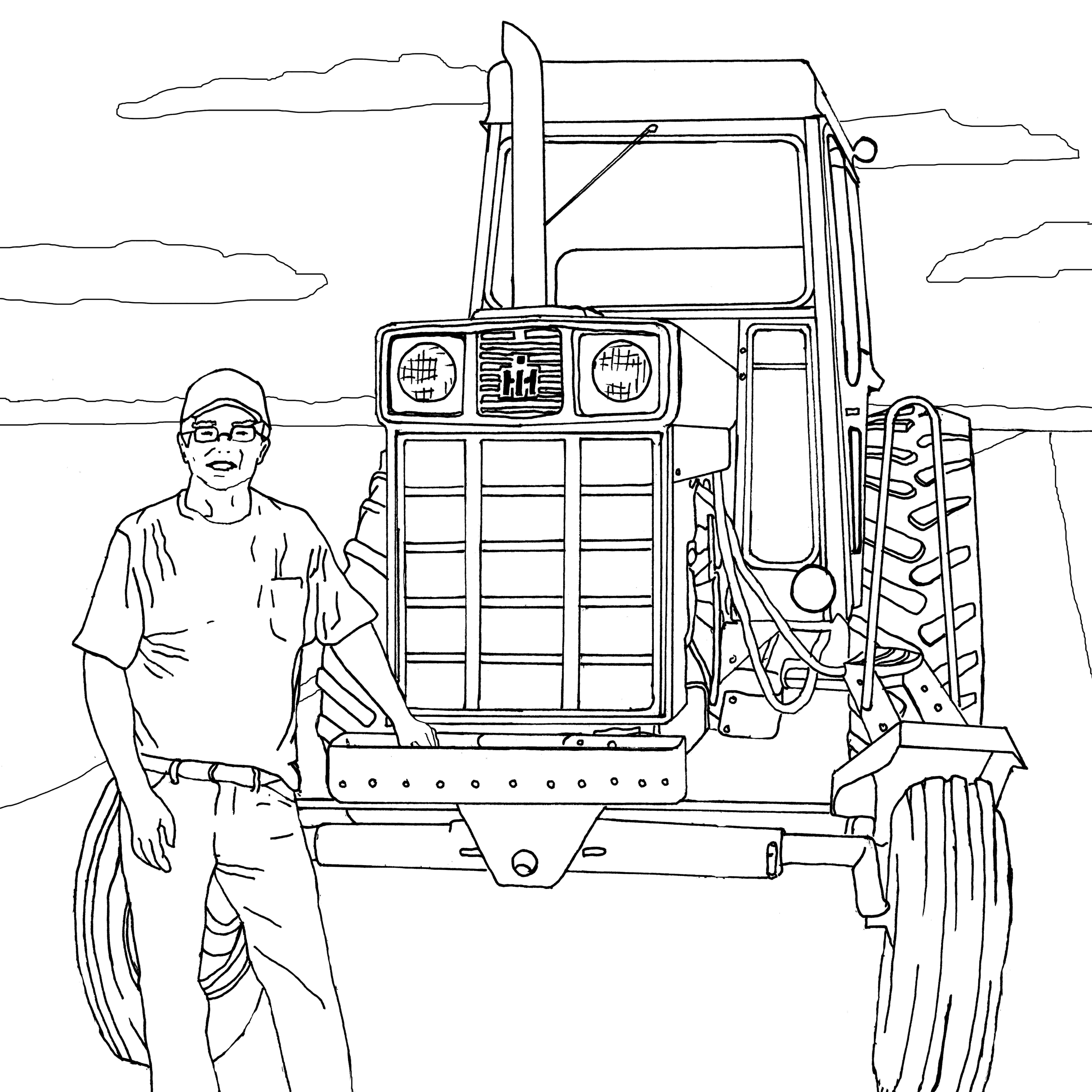 tractor coloring sheet john deere tractor coloring pages tractors and coloring tractor sheet