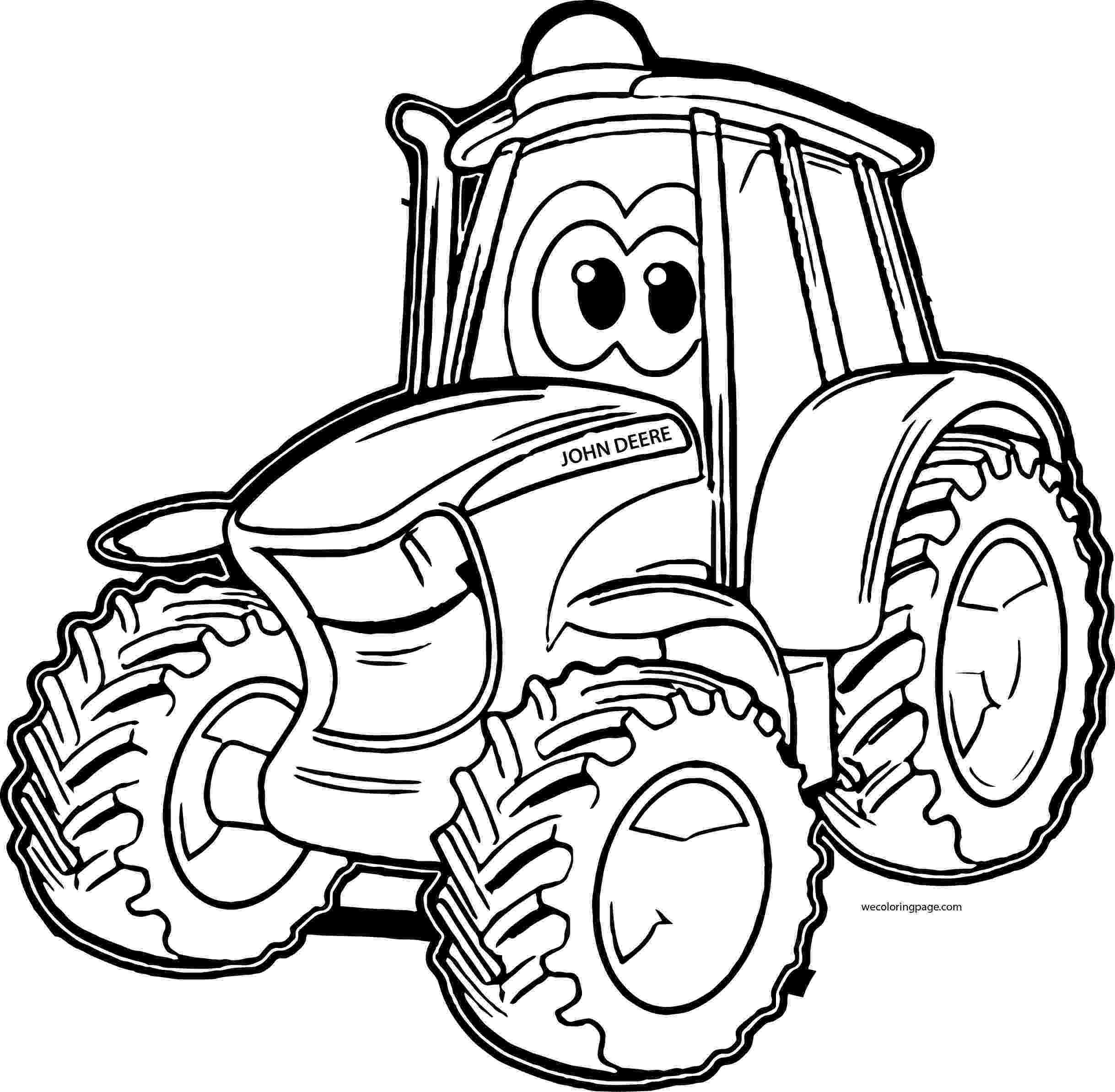 tractor coloring sheet john johnny deere tractor coloring pages wecoloringpagecom sheet coloring tractor