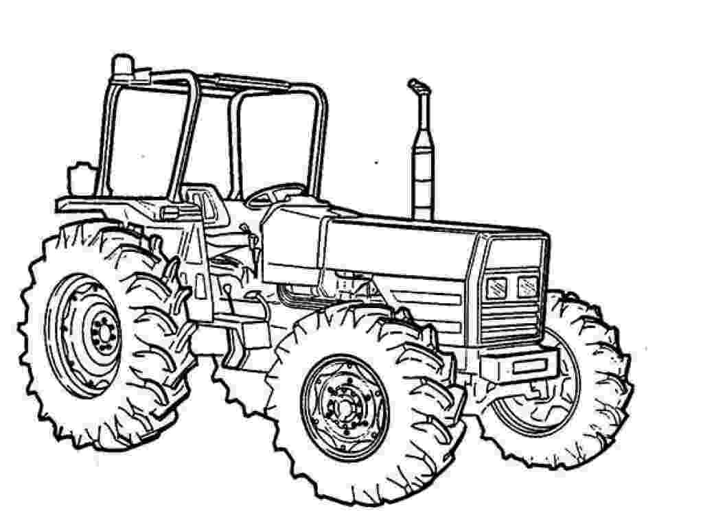 tractor coloring sheet tractor coloring pages getcoloringpagescom coloring tractor sheet