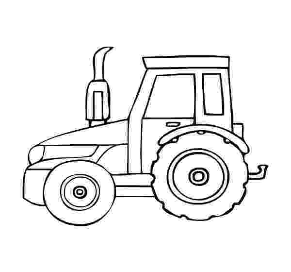 tractor coloring sheet tractor coloring pages getcoloringpagescom sheet tractor coloring