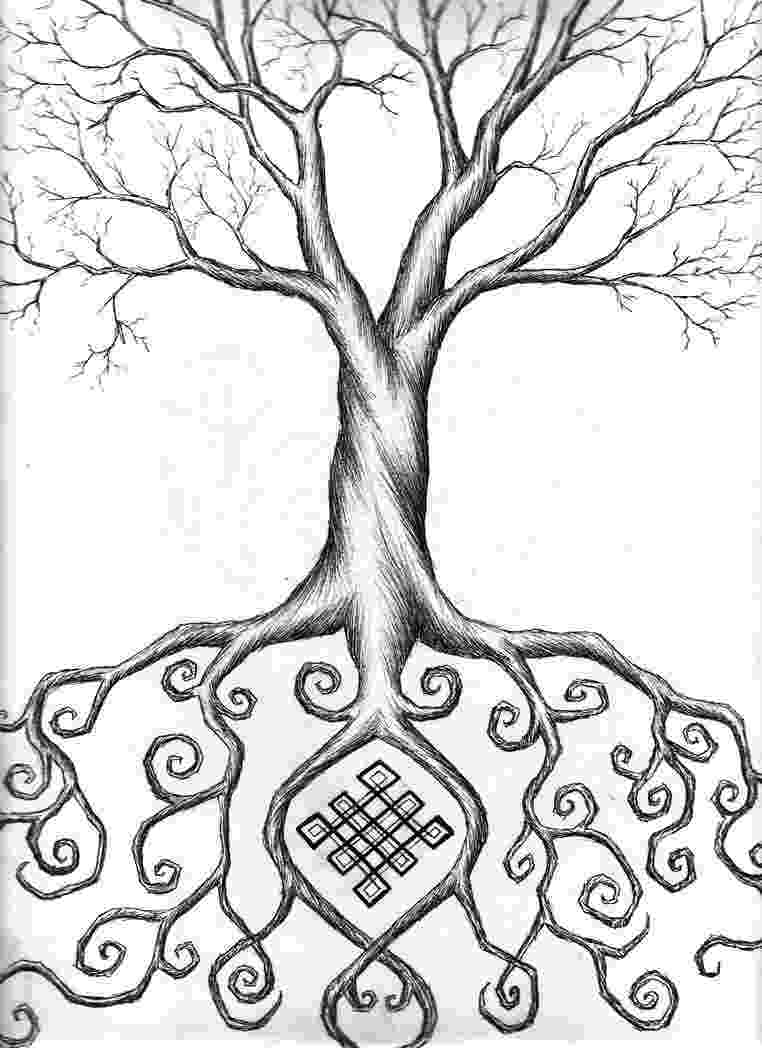 tree of life coloring pages tree of life by wilykat13 on deviantart tree life of pages coloring