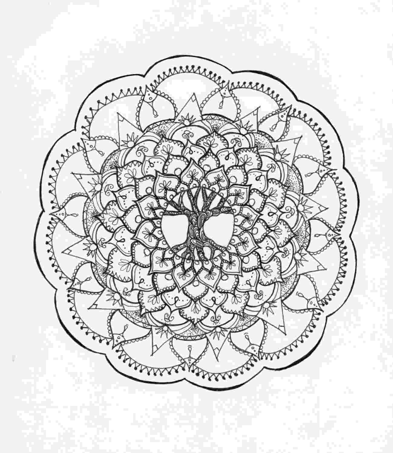 tree of life coloring pages tree of life zentangle mandala adult coloring page etsy pages tree coloring life of