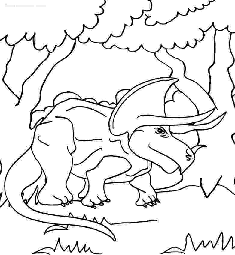 triceratops coloring pages free printable triceratops coloring pages for kids triceratops pages coloring 1 2