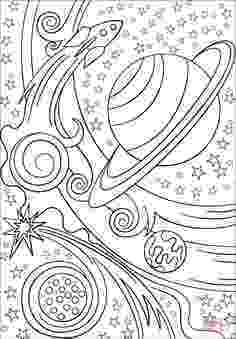 trippy planets pop art sun moon and stars super coloring colouring trippy planets