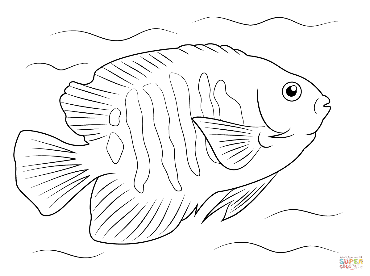 tropical fish coloring pages tropical fish coloring pages getcoloringpagescom tropical pages fish coloring