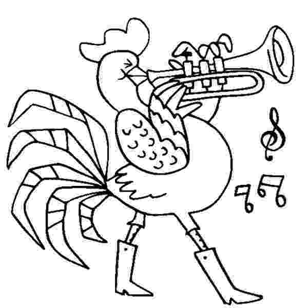 trumpet coloring coloring trumpet coloring trumpet