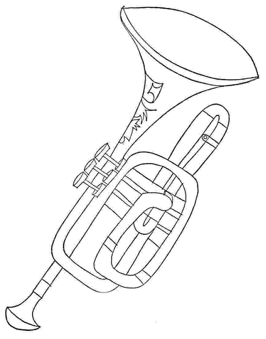 trumpet coloring pipe coloring pages to download and print for free coloring trumpet