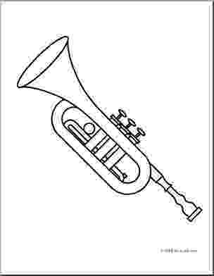 trumpet coloring trumpet coloring pages coloring trumpet