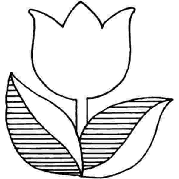 tulips to color 14 tulip coloring page print color craft color tulips to