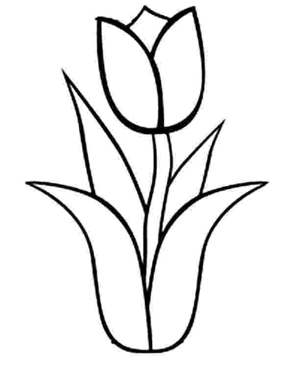 tulips to color coloring pages for kids tulip coloring pages for kids color tulips to