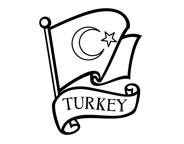 turkey flag coloring page splendid coloring flag of taiwan zimbabwe flags flag page coloring turkey