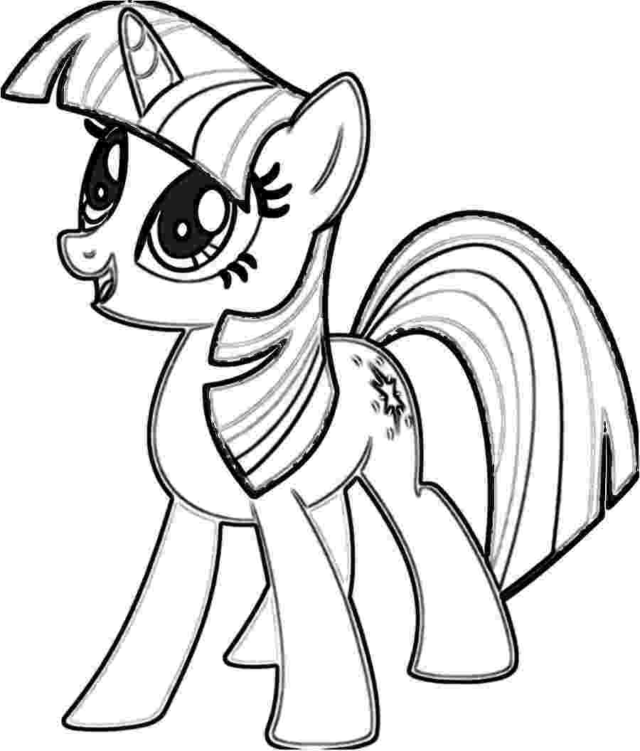 twilight my little pony coloring pages alicorn with wingscoloring pages my pages twilight pony little coloring