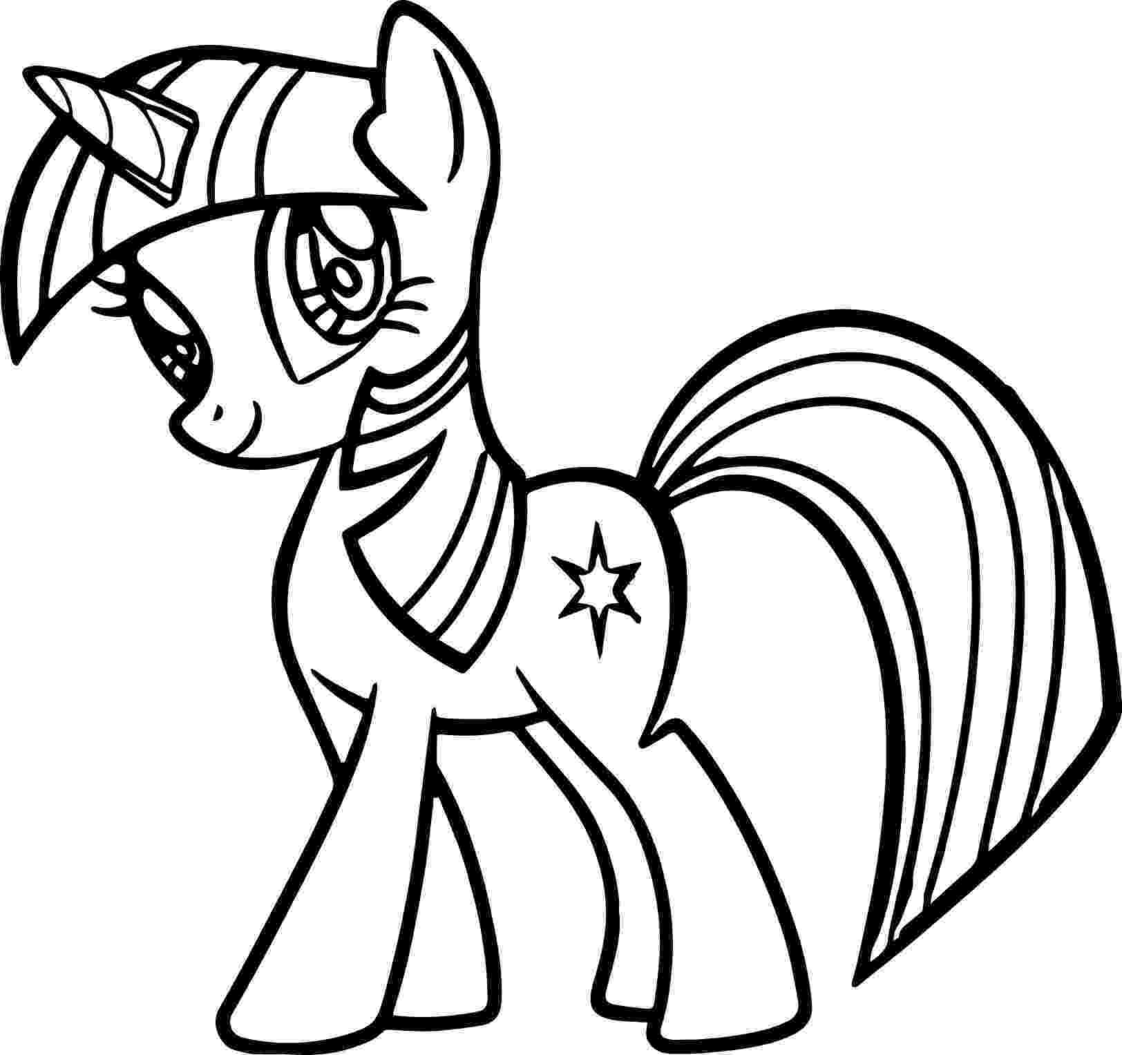 twilight my little pony coloring pages my little pony coloring pages twilight sparkle and friends twilight my coloring little pages pony