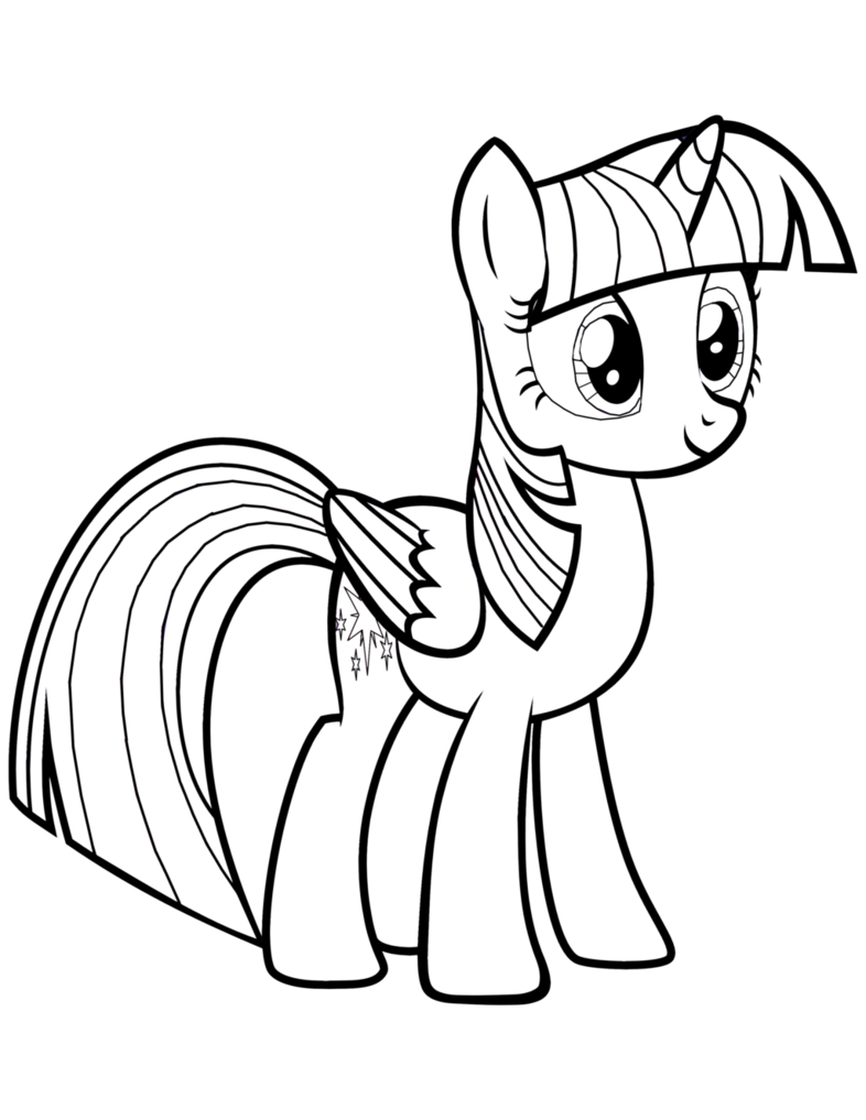 twilight my little pony coloring pages twilight sparkle coloring page coloring my little twilight pony pages