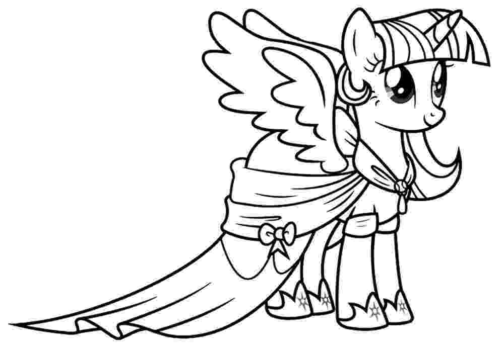 twilight my little pony coloring pages twilight sparkle coloring pages to download and print for free little pony twilight pages my coloring