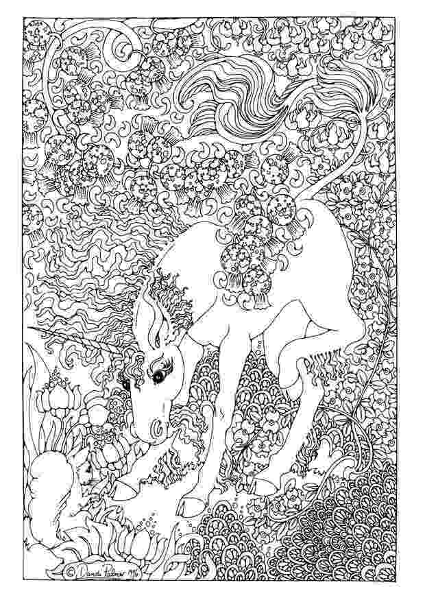 unicorn coloring pages for adults coloring book 4th edition phil lewis art coloring for unicorn pages adults