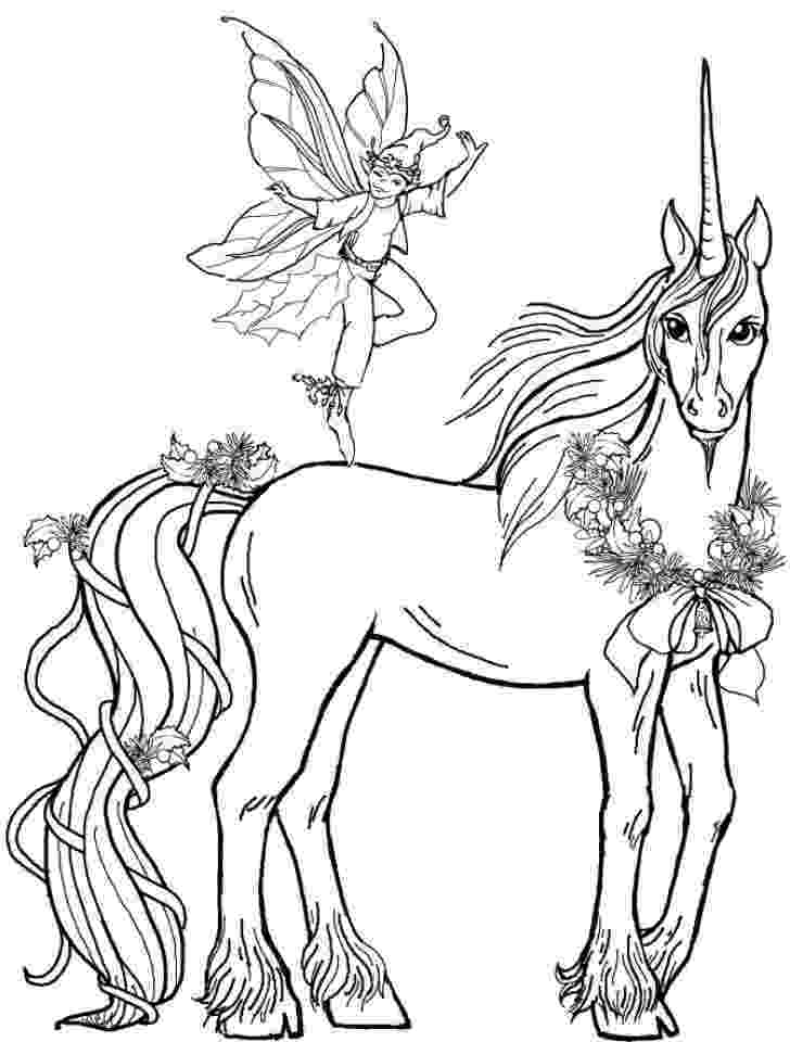 unicorn coloring pages for adults printable fairy unicorn coloring page for adults unicorn coloring adults for unicorn pages