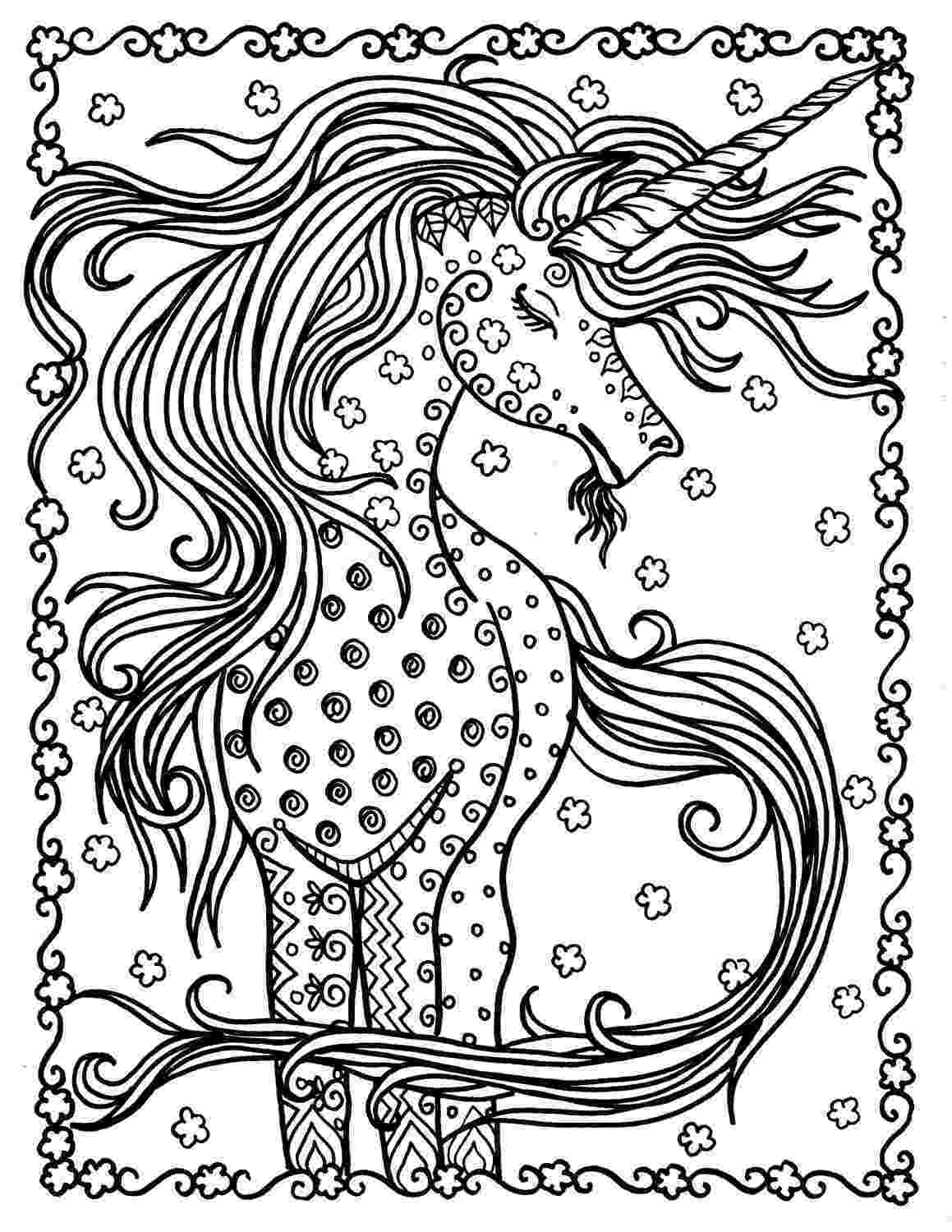 unicorn coloring pages for adults unicorn instant download fantasy coloring pages adult adults pages unicorn for coloring