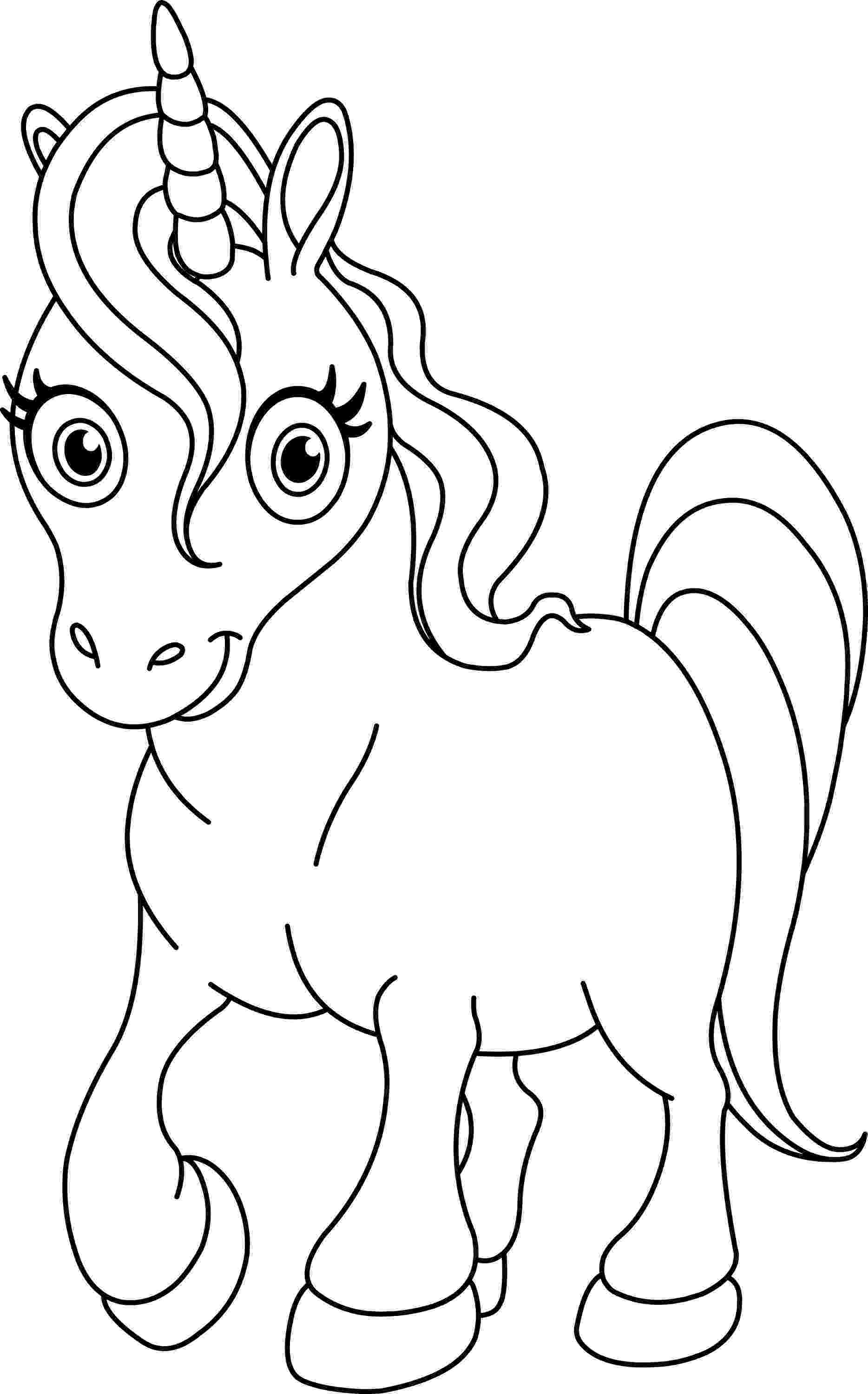 unicorn picture to color free printable unicorn coloring pages for kids picture unicorn color to