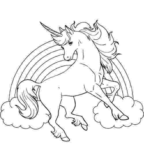 unicorn picture to color unicorn horse with rainbow coloring page unicorn picture to color unicorn