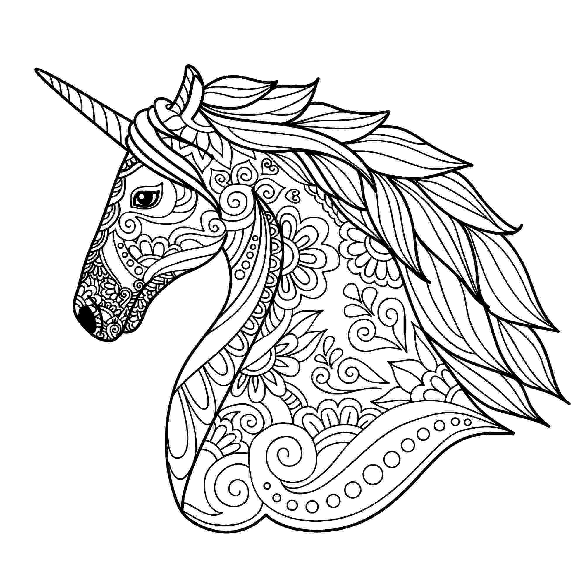 unicorn printable coloring pages print download unicorn coloring pages for children coloring unicorn printable pages