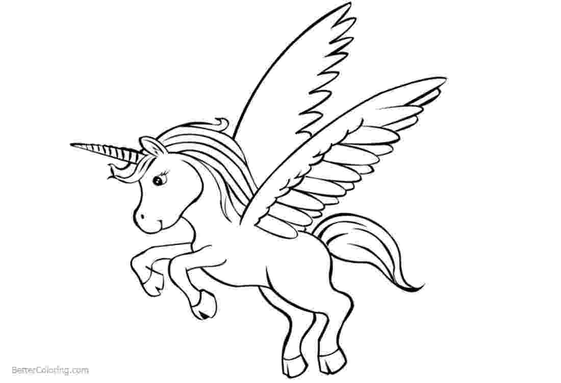 unicorn with wings 35 best printable pictures of unicorns images unicorn wings with unicorn