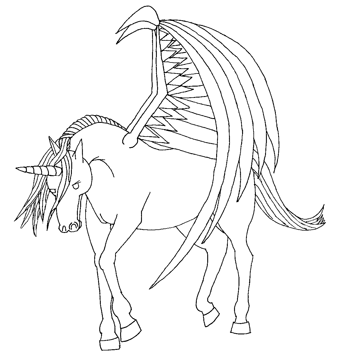 unicorn with wings cute unicorn printable coloring pages world of reference with wings unicorn