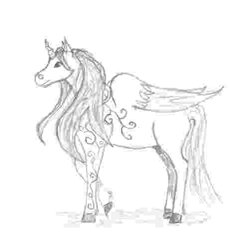 unicorn with wings unicorn with wings pencil drawing how to sketch unicorn wings with unicorn