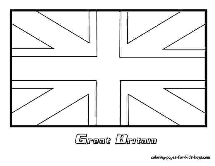 united kingdom flag to colour 04flagofbritaincoloringpageatcoloring pages book kingdom flag to united colour