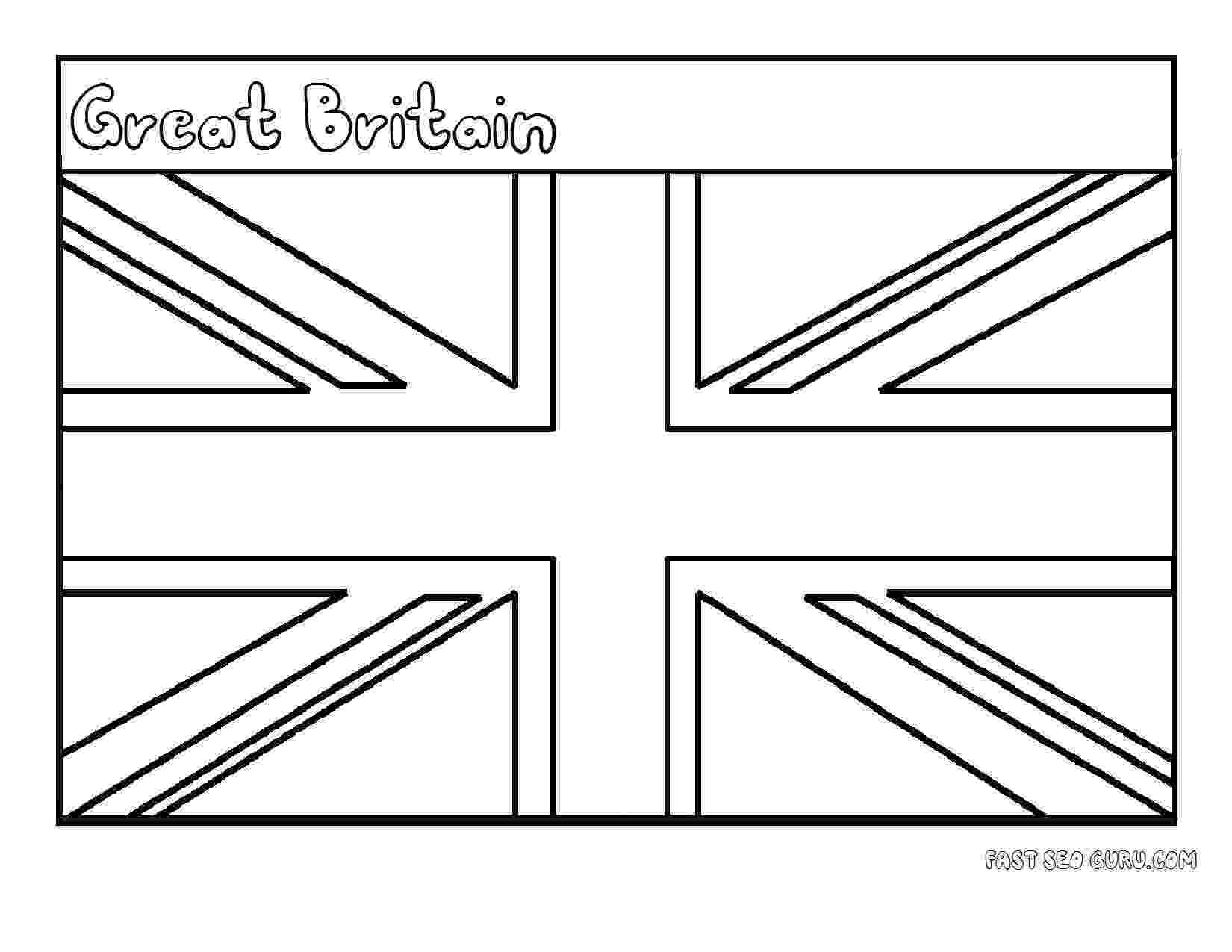 united kingdom flag to colour pin by cakeontuesday on for my brit flag coloring pages kingdom united colour to flag