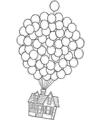 up house coloring pages disney39s up house on balloons coloring page disney up house pages coloring