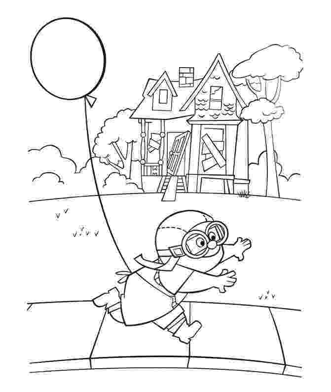 up house coloring pages russell goes up on the balloons coloring page free up coloring house pages