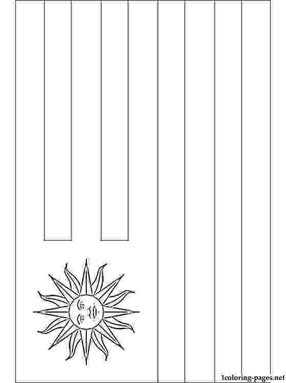 uruguay flag coloring page clip art flags uruguay bw i abcteachcom abcteach page coloring uruguay flag