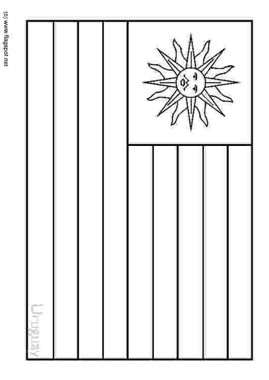 uruguay flag coloring page flag of switzerland coloring pages hellokidscom page coloring flag uruguay