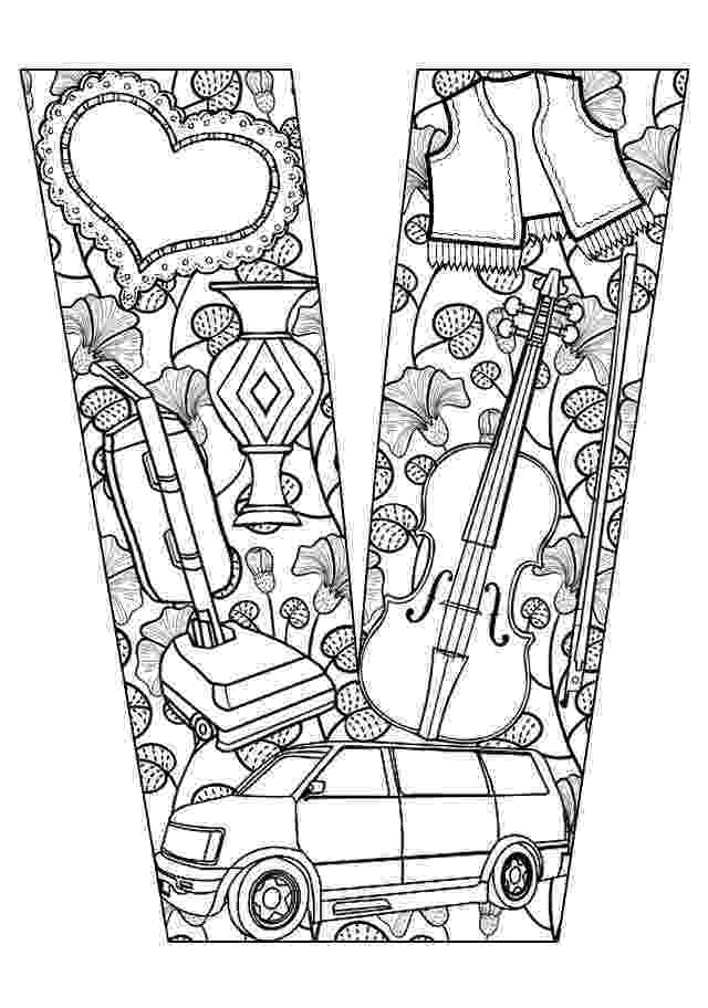 v coloring page letter v coloring pages to download and print for free coloring v page