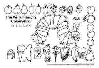 very hungry caterpillar coloring page pack snacks very hungry caterpillar coloring pages coloring very caterpillar hungry page