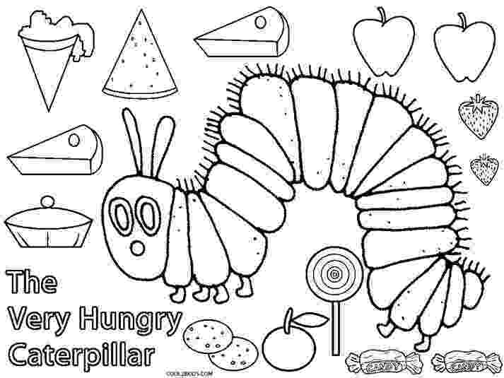 very hungry caterpillar coloring page printable caterpillar coloring pages for kids cool2bkids caterpillar coloring page hungry very