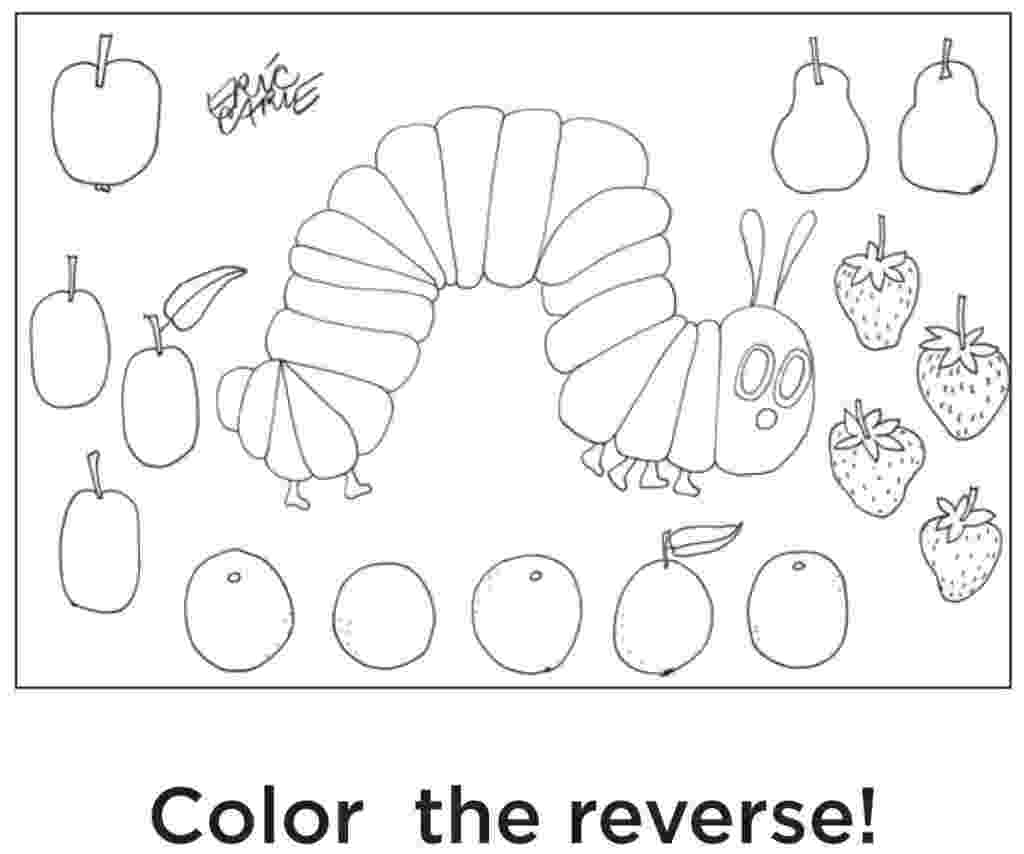 very hungry caterpillar coloring page very hungry caterpillar coloring pages coloring home caterpillar hungry coloring very page