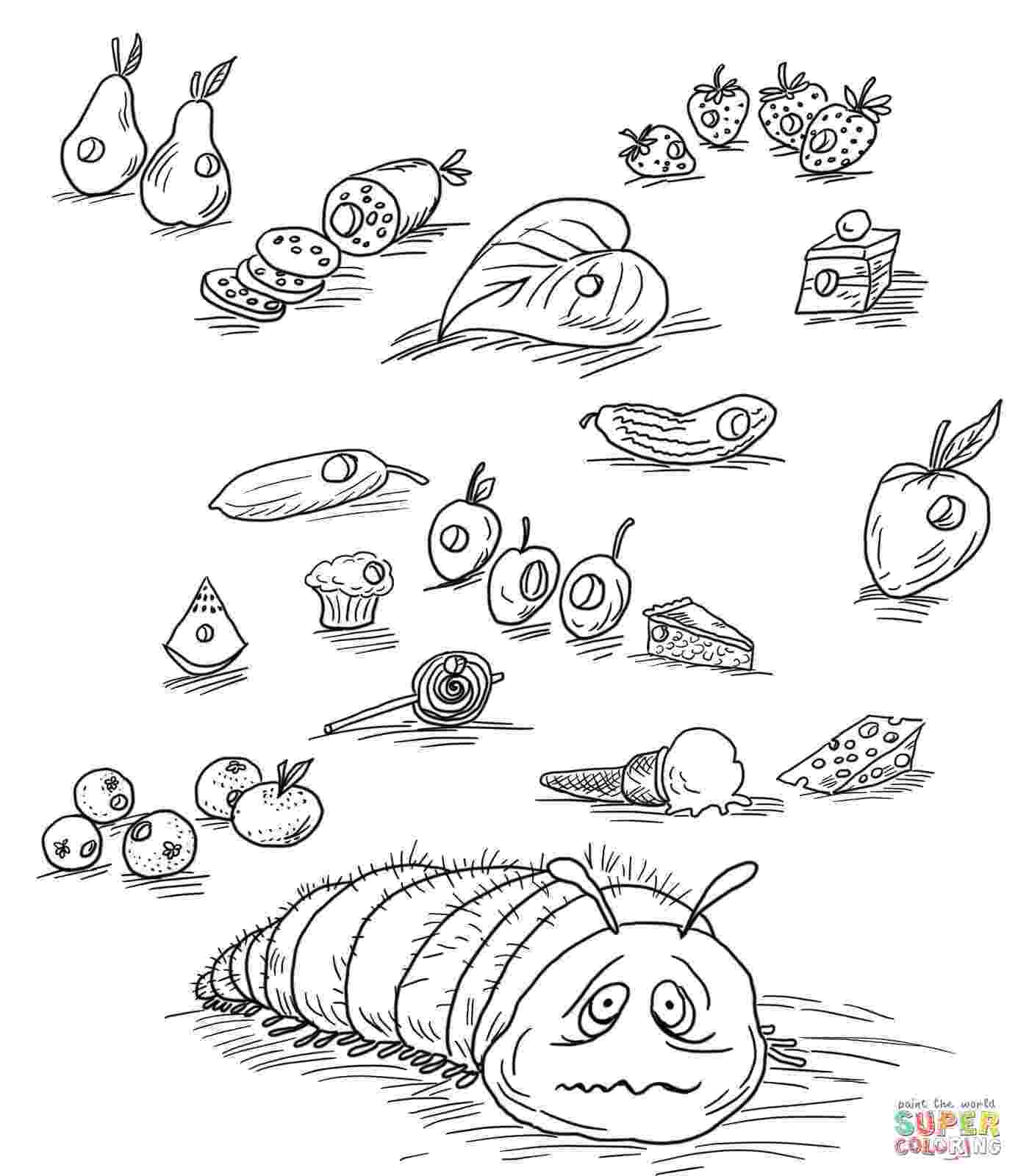 very hungry caterpillar coloring page very hungry caterpillar coloring pages coloring home very coloring hungry page caterpillar