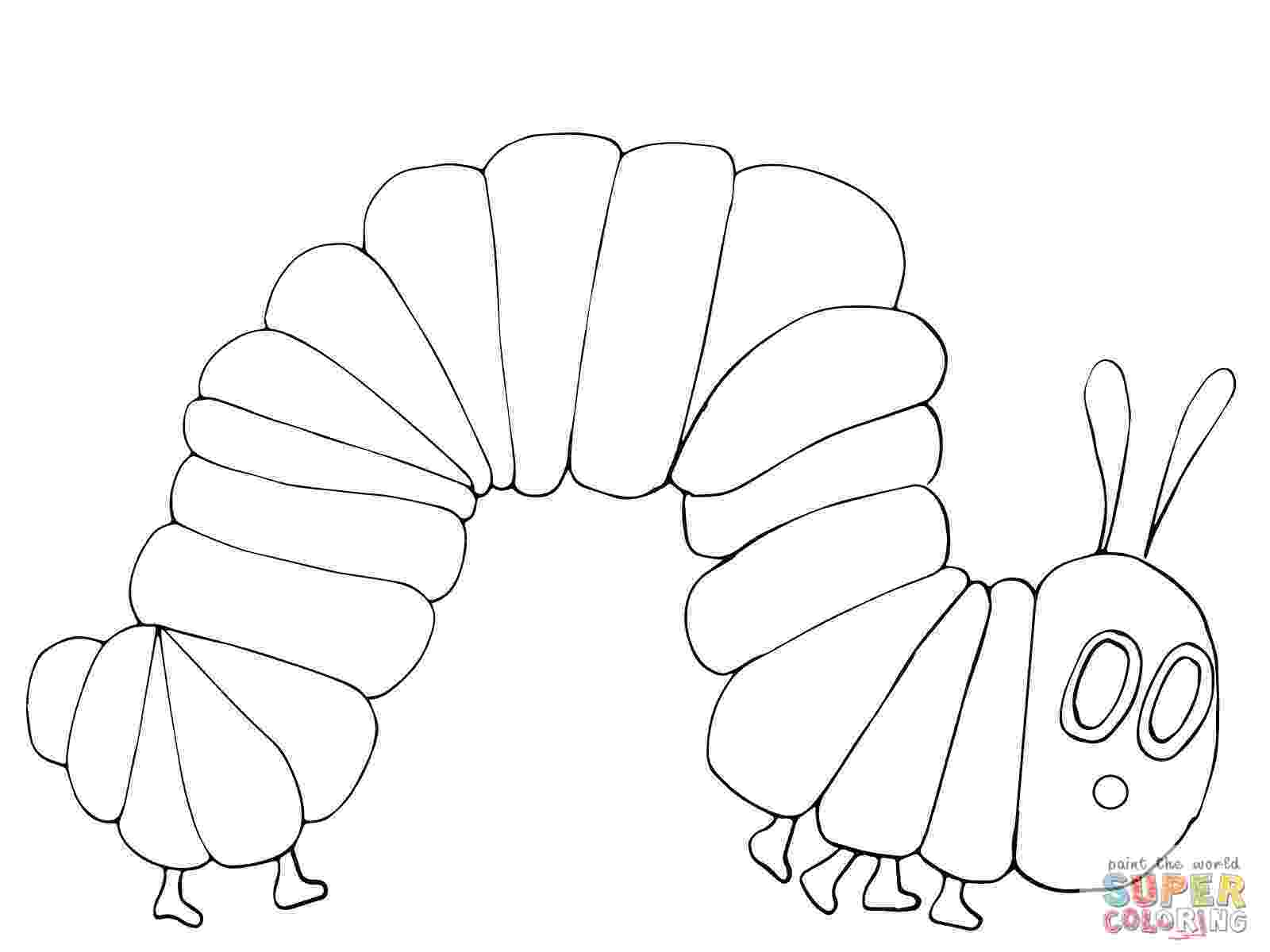 very hungry caterpillar coloring page very hungry caterpillar coloring pages to download and coloring caterpillar page hungry very