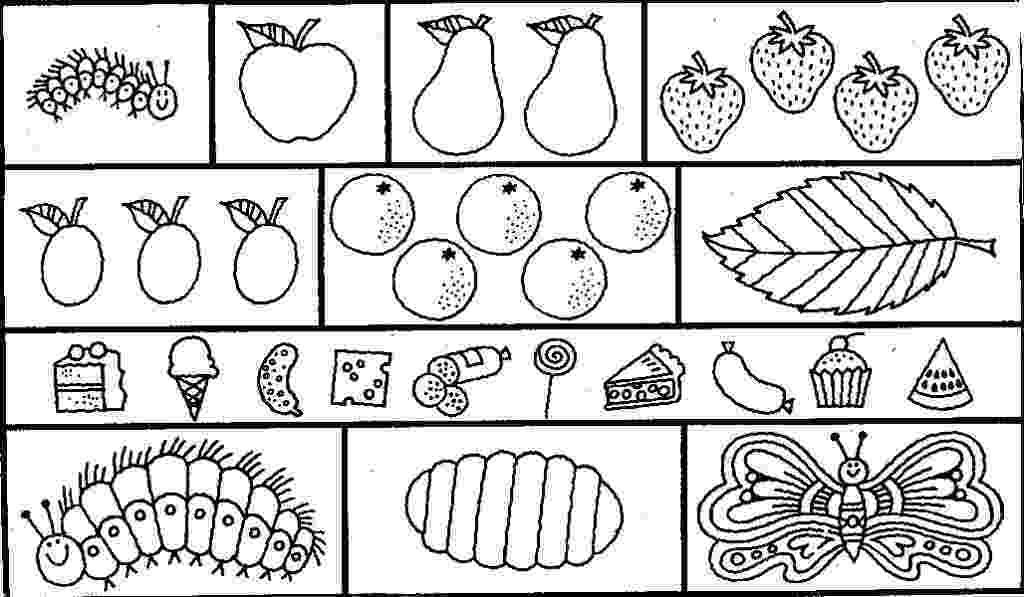 very hungry caterpillar coloring page very hungry caterpillar coloring pages to download and hungry caterpillar coloring page very