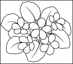 violet flower coloring page violet coloring page printables apps for kids coloring page violet flower