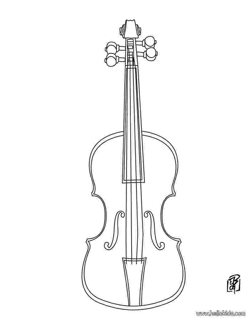 violin pictures to print instrument coloring pages to download and print for free print violin pictures to