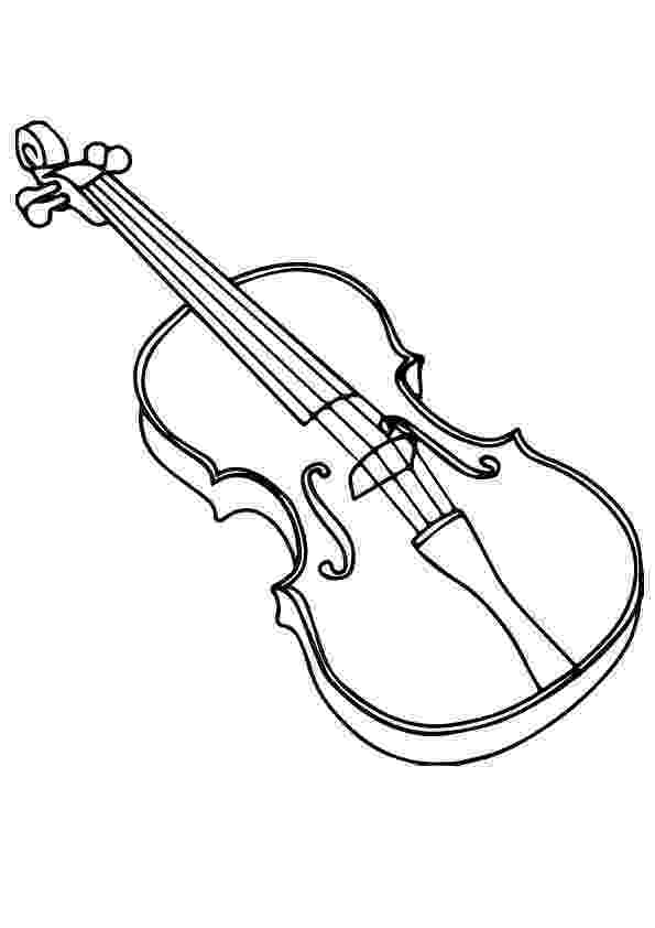 violin pictures to print music color page coloring pages for kids miscellaneous pictures to print violin