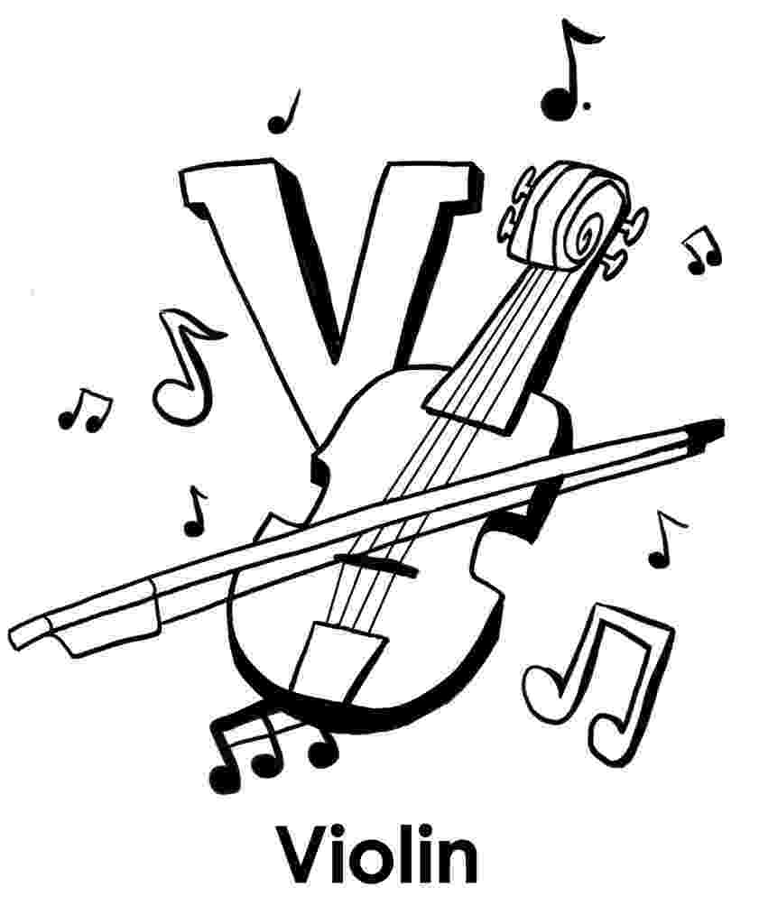violin pictures to print violin coloring pages books 100 free and printable pictures violin to print