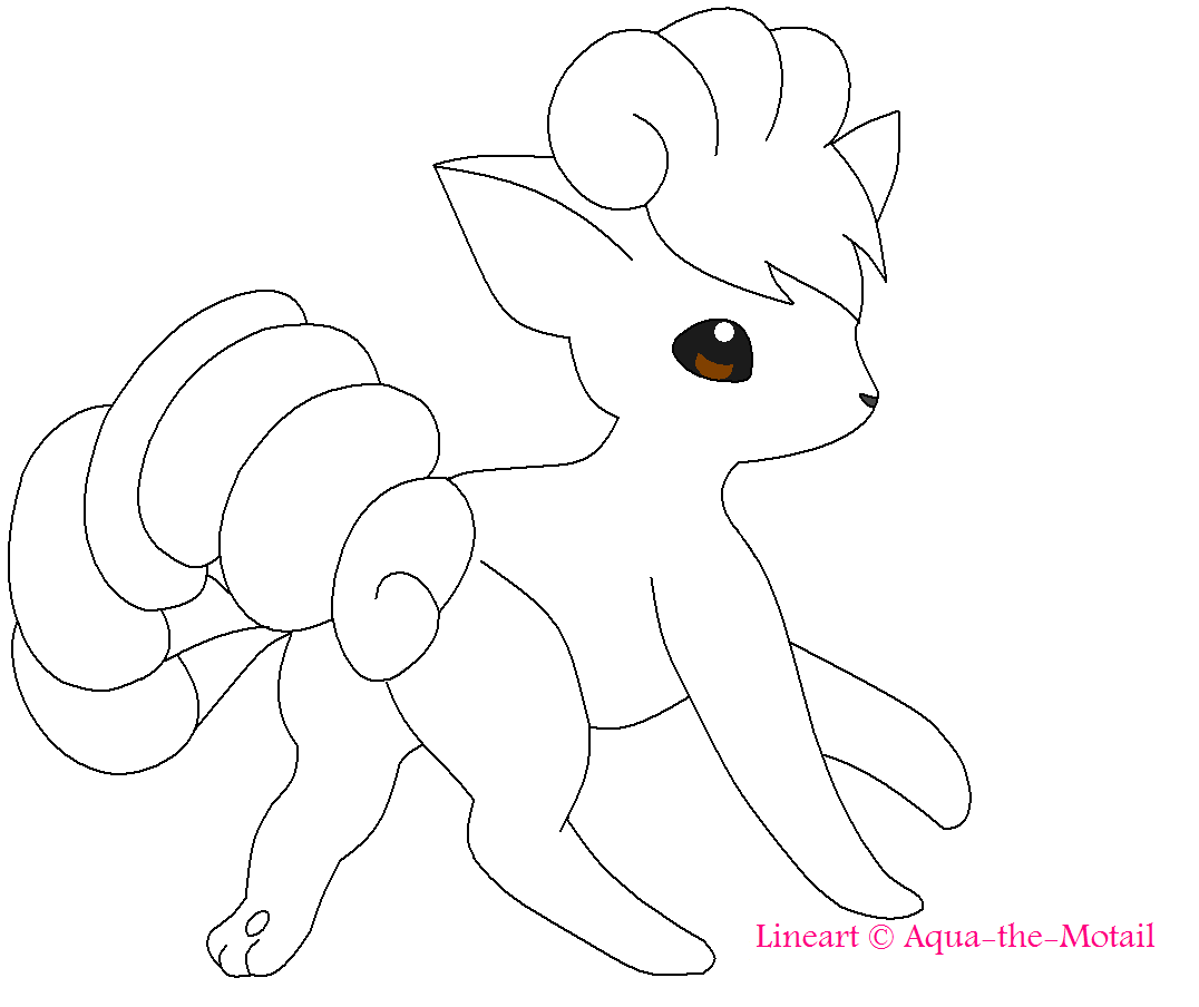 vulpix coloring pages pokemon coloring pages vulpix at getcoloringscom free vulpix coloring pages